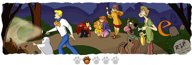 Halloween-Doodle 2: Ziemlich mysteriös, das Ganze