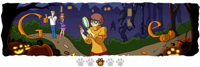 Halloween Doodle 3: Spurensuche und Basketball