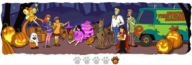 Halloween Doodle 5: Verkleidung und Auflösung