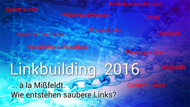 Linkbuilding 2016