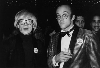 Andy Warhol und Keith Haring