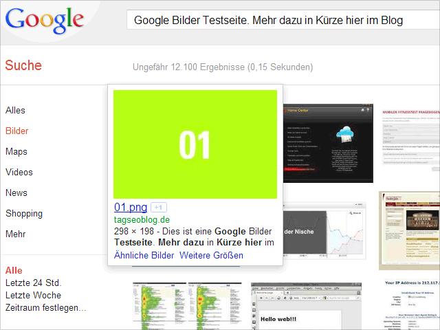 Bild 01 des Google Bilder Experiments