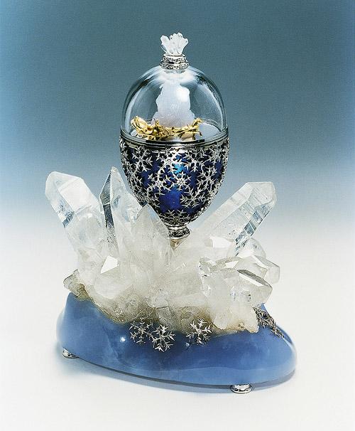 """""""Modernes"""" Fabergé-Ei von Victor Mayer, 1997"""