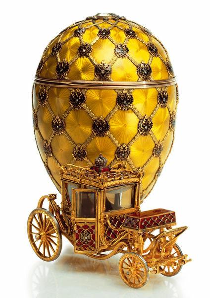 Faberge: Krönungsei (1897)