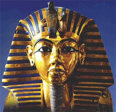 Goldmaske des Tutanchamun