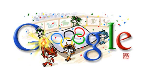Doodle zu Olympia 2008: Eröffnungsfeier