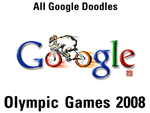 Olympische Spiele 2008 Doodles
