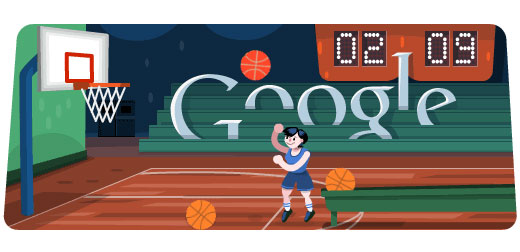 Basketball Doodle 2012 (Olympische Spiele London)