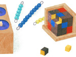 Maria Montessori Doodle