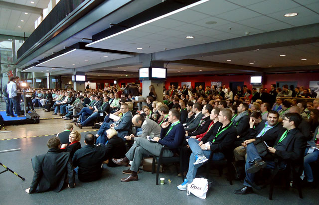Viele Zuschauer beim SeoDay