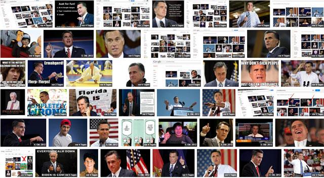 """Google Bildersuche nach """"completely wrong"""" zeigt Mitt Romney Bilder"""