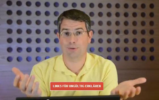 Matt Cutts stellt das neue Tool zum Entwerten von Links vor