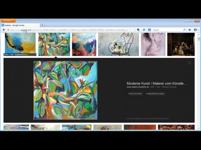 Google Bildersuche (.com, Sprahce: de) am 28.01.2013