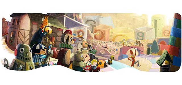 Frohes Fest wünscht Google - und ich auch