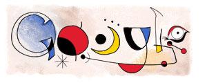Joan Miro Doodle (20. April 2006)