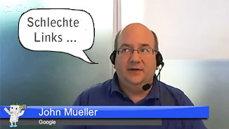John Müller (Google) über schlechte Links