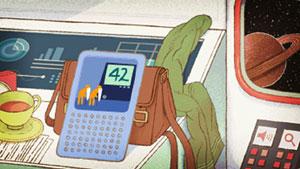 42 - Screen aus dem Doodle