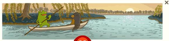 Frosch und Vogel (George Ferris Doodle)