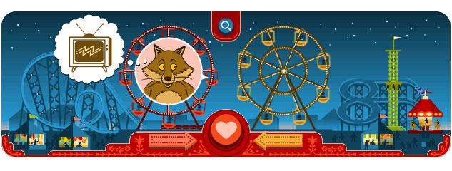 Georg Ferris Doodle: Nanu, ein Fuchs?