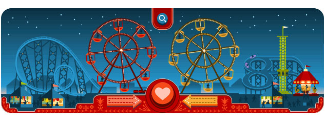 George Ferris Doodle (Valentinstag 2013)