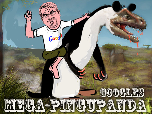 Matt Cutts auf Googles Mega PinguPanda!