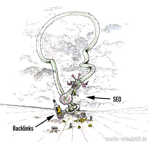 Seo - süchtig nach Backlinks und Rankings
