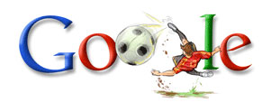 Doodle zu Ehren des Fußball-Europameisters Spanien (2008)
