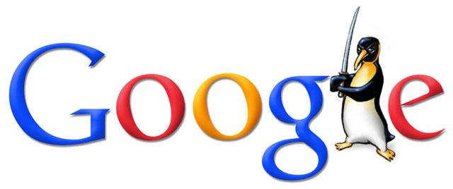 Penguin Google Doodle (inoffiziell, von Mißfeldt)