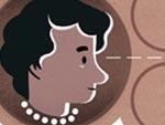 Rosalind Franklin Doodle