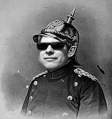 Seokanzler Mißfeldt mit Weitblick