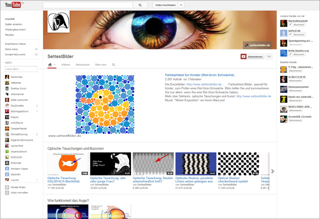 Neues Youtube Kanal Design Inkl Channel Design Vorlage