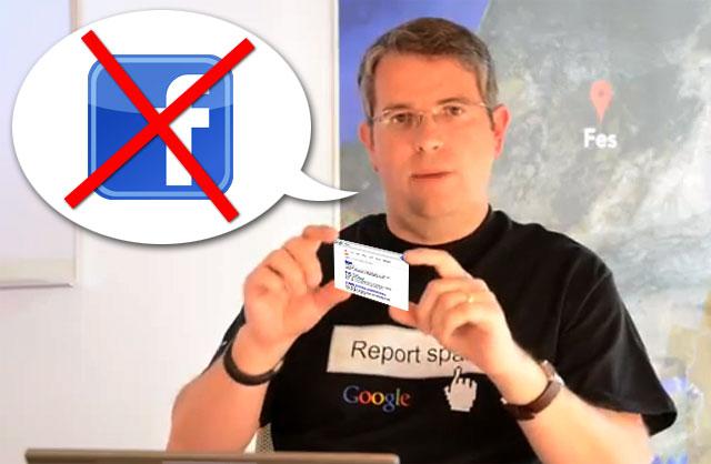 Matt sagt: facebook Signale sind kein Rankingfaktor!