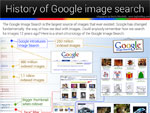 Infografik: History of Google Image Search