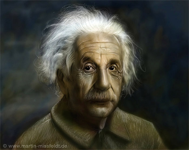 Albert Einstein - gut komprimiert (66 kb)