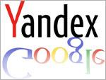 Yandex - Google Vergleich