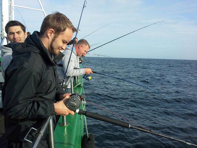 Hochseeangeln in der Ostsee