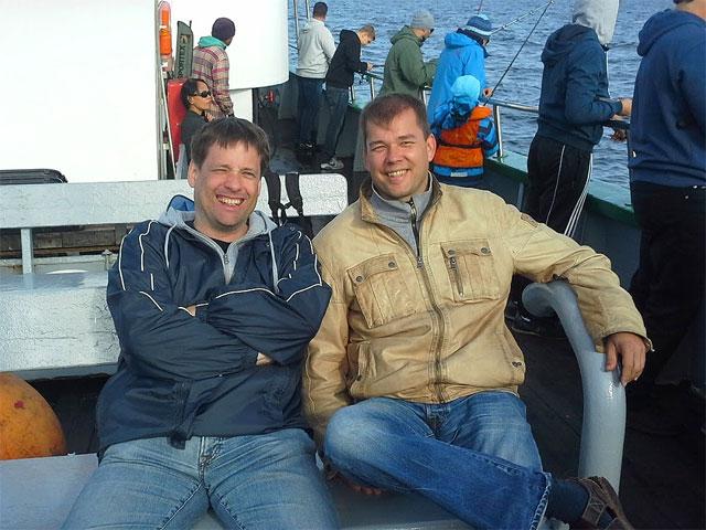 Niels und Uwe :-)