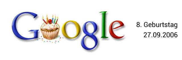 Google Geburtstag Doodle 08