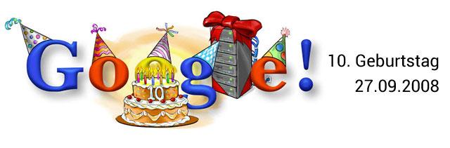 Google Geburtstag Doodle 10