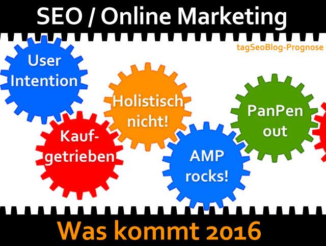 Prognose 2016 (SEO und Online-Marketing)