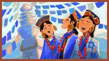 Sängerinnen aus Nepal