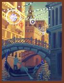 Venezianische Gondeln in Venedig