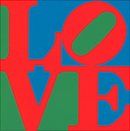 LOVE (1964) von Robert Indiana