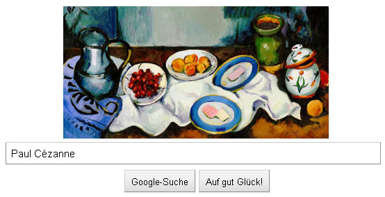 Paul Cezanne, 172. Geburtstag - Google Doodle