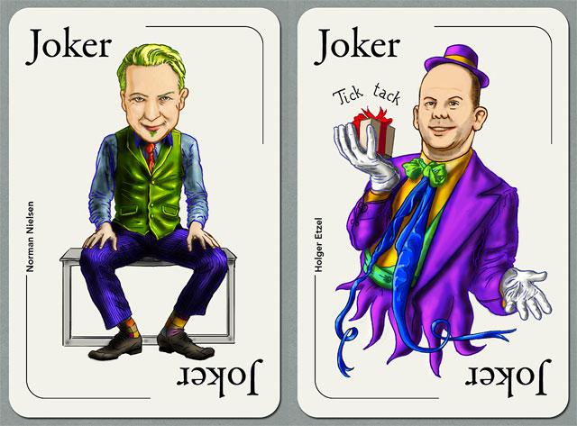 Seo-Joker: Norman Nielsen und Holger Etzel