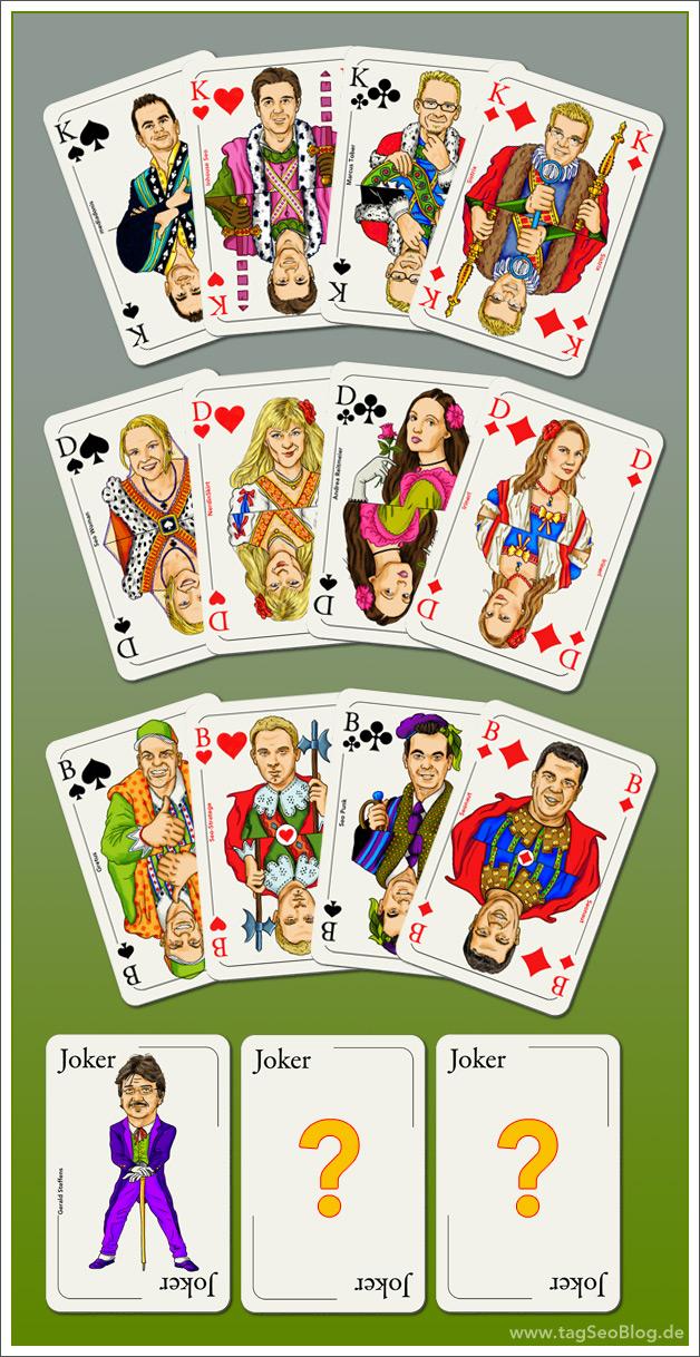 Kartenspiel Mit Joker