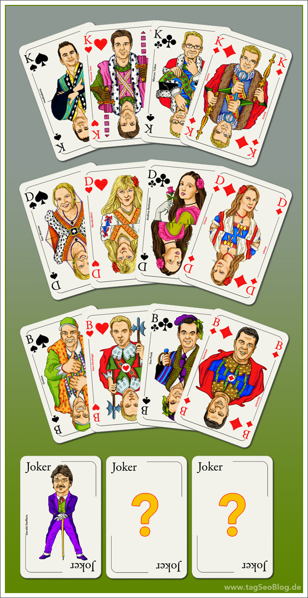 Seo-Spielkarten