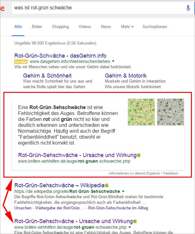 Google-Suche nach