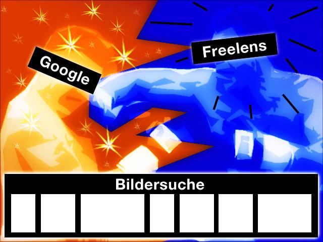 Freelens klagt gegen die neue Google Bildersuche