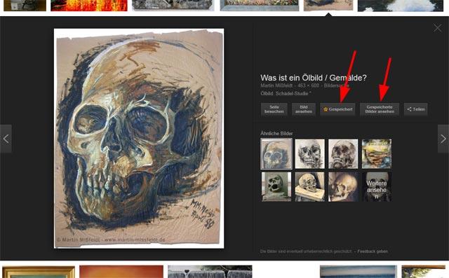 Google Bildersuche (exempl. Suche nach